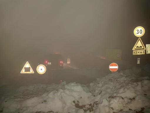 Primi smottamenti, a Bormida chiusa la strada comunale del Melogno