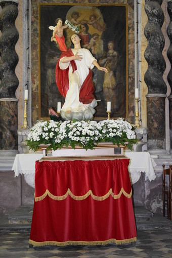 Segno in festa per la patrona Santa Margherita