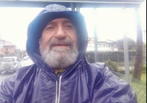 L'artista camminatore di Albenga Sergio Giusto ripercorre il sentiero di San Martino