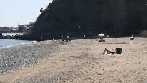 Albissola, il sindaco firma un'ordinanza per la messa in sicurezza della spiaggia della Madonnetta