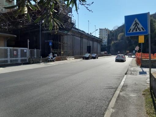 Savona, il comune sollecita Anas per la segnaletica nell'attraversamento pedonale delle Funivie