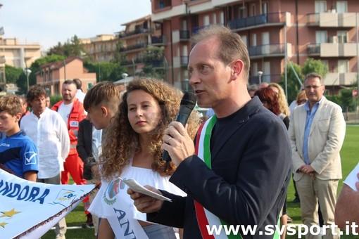 Il sindaco di Andora Mauro Demichelis ai microfoni di Radio Onda Ligure 101