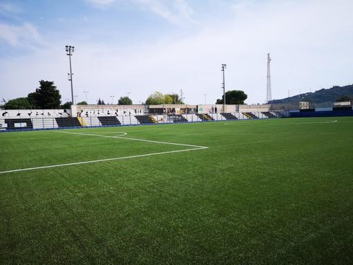 """Albenga, stadio """"blindato"""" per il derby con l'Imperia"""
