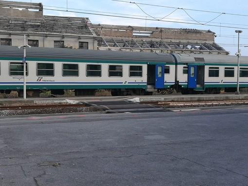 La stazione ferroviaria di Pietra Ligure