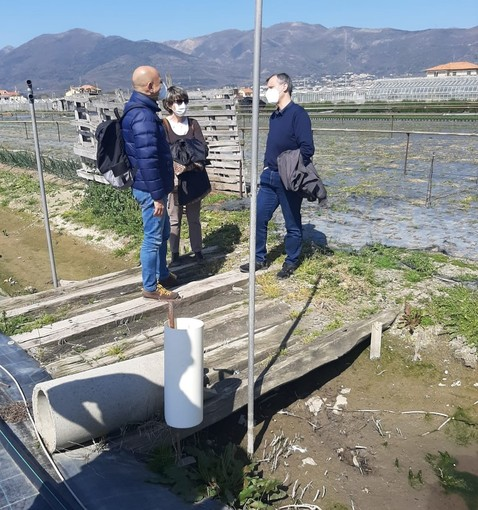 Albenga, piano generale di bonifica: al via i sopralluoghi su rii, canali e fossati