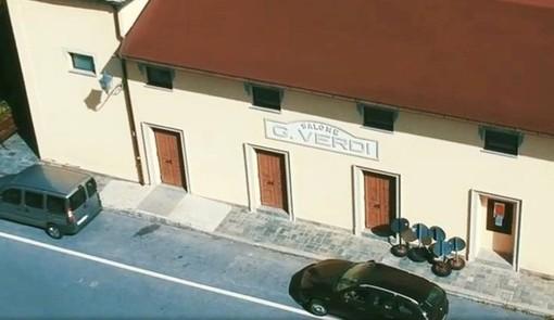 """Pagina Facebook """"Anno nuovo, teatro nuovo: riapriamo insieme il Salone Verdi di Calizzano"""""""