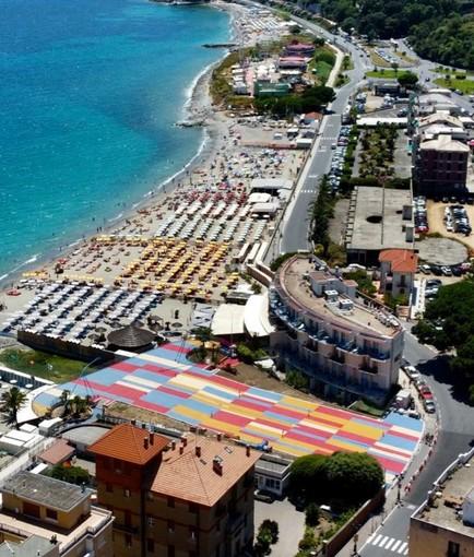 """Spotorno, dall'8 agosto la Terrazza a mare torna alla comunità: """"Una agorà di colori, nuovo centro e simbolo della città""""(FOTO)"""