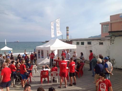 """Estate da record allo """"Scaletto senza scalini"""": 3500 presenze per la spiaggia libera attrezzata savonese"""