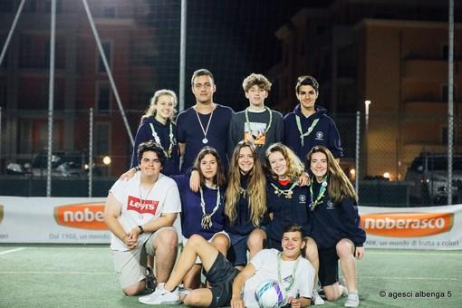 La squadra Bio Parco vince il torneo di calcio a 5 organizzato dagli scout di Albenga