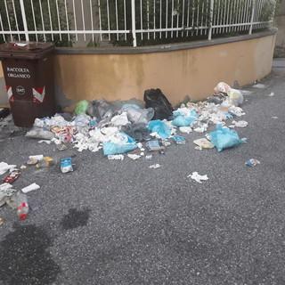 """Lettera al direttore: """"Sacchi dell'immondizia abbandonati all'esterno dei cassonetti della differenziata"""" (FOTO)"""