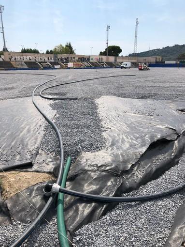 Albenga, lavori di restyling alle principali strutture sportive