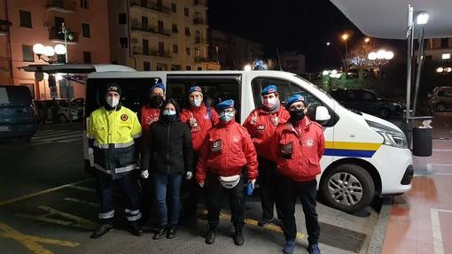 Albenga, assistenza ai senzatetto: servizio straordinario anti-freddo di City Angels e Protezione civile