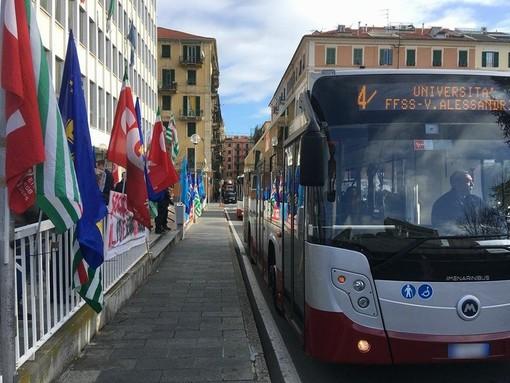 Sciopero Tpl, lunedì 26 febbraio i bus si fermano per 24 ore