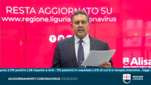 """Coronavirus, Toti: """"Con i movimenti tra regioni cambia lo scenario, ma continueremo a monitorare con attenzione"""" (VIDEO)"""
