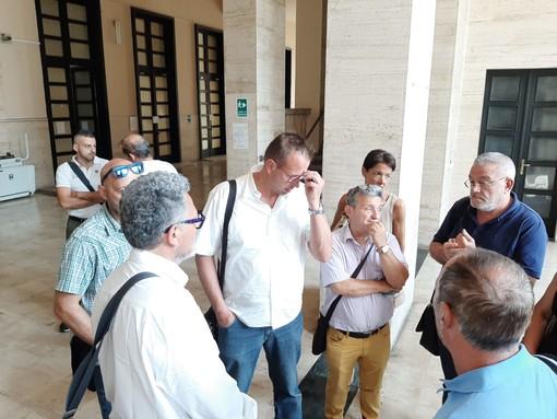 Tpl, vertice in Prefettura con i sindacati: spicca l'assenza del presidente della Provincia Olivieri