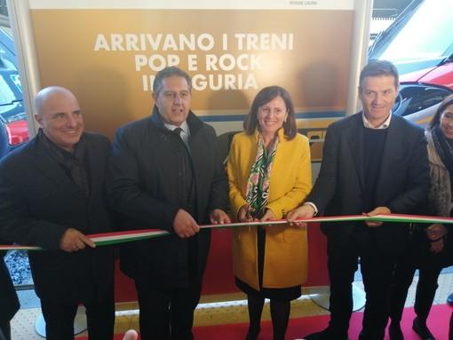 """Debuttano in Liguria i treni """"Rock"""" e """"Pop"""" di Trenitalia"""