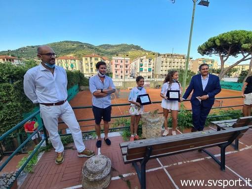 Finale, la città e la Regione rendono omaggio alle giovani tenniste Carola e Vittoria (FOTO e VIDEO)
