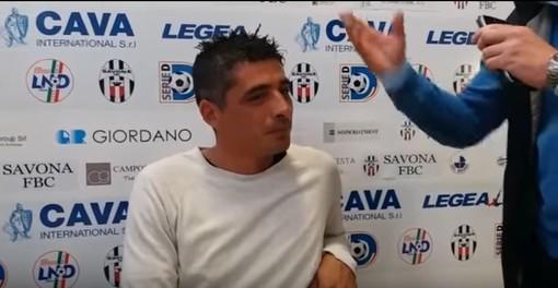 """Savona Calcio, Tabbiani si presenta: """"Gioco e risultati, così vogliamo far tornare a sorridere i nostri tifosi"""""""