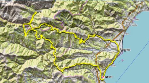 Il Tour delle Torri Saracene fa tappa ad Albenga
