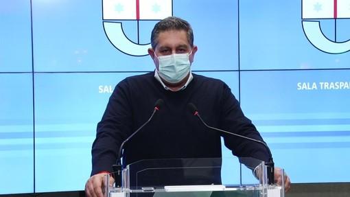 """Nuovo Dpcm e pressione ospedaliera, il punto del presidente Toti: """"Il Governo metta subito in campo le risorse annunciate"""""""