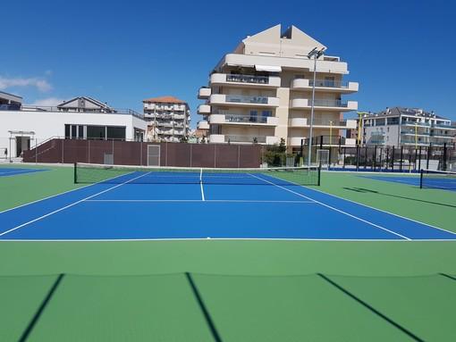 Albenga: nuovi campi da tennis nel cuore della città grazie alle famiglie Zunino e Pellegrini