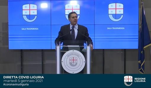 """Covid e restrizioni, c'è attesa per il nuovo report. Toti: """"La Liguria è a cavallo tra la zona gialla e l'arancione"""""""