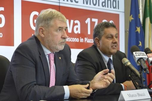Ilva, il presidente della Regione Toti e il sindaco di Genova Bucci chiedono un incontro ufficiale con il premier Conte e con il ministro Patuanelli