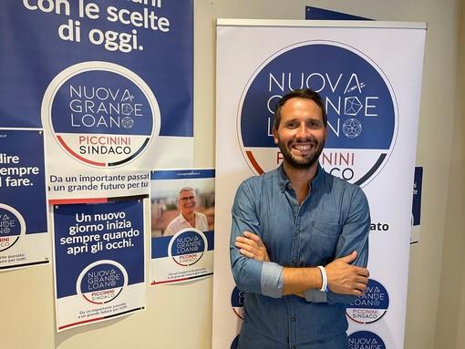 """Loano 2021, Tognini: """"Dialogo con i cittadini al primo posto, stop a passerelle elettorali"""""""
