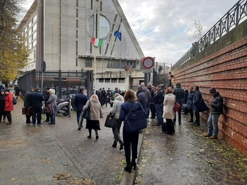 Allagamenti nel tribunale di Savona: mobilitati i vigili del fuoco