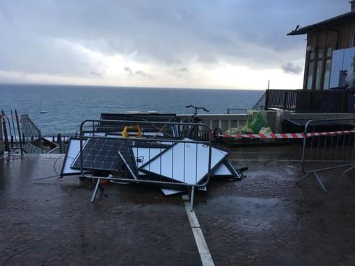 Le immagini della furia del maltempo a Celle Ligure: tromba marina in località Piani (FOTO e VIDEO)