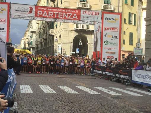 "Riprogrammata la ""Savona Half Marathon International"": si terrà domenica 2 maggio 2021"