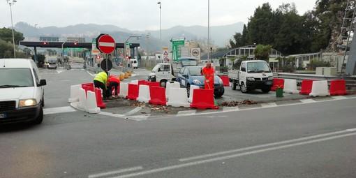 Albisola, l'uscita autostradale potrebbe cambiare volto: al vaglio una soluzione sperimentale