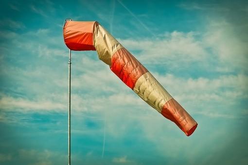 Forte vento di burrasca: l'avviso diramato da Arpal