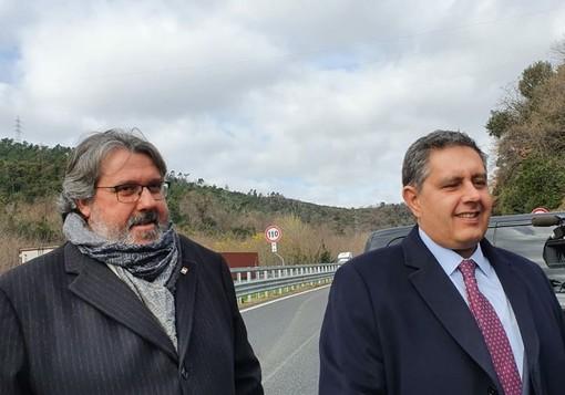 """Nuovo viadotto A6, Vaccarezza: """"Si è chiuso un percorso assolutamente unico"""" (VIDEO)"""