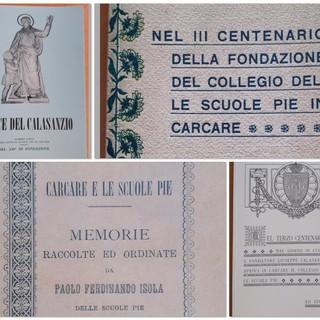 """""""Collegium librorum"""", 4 volumi rari ed estinti dedicati al Collegio Calasanziano"""