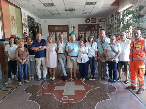 L'Associazione Vecchia Albenga destina il ricavato della Cena in Bianco alla Croce Bianca e all'Istituto Trincheri