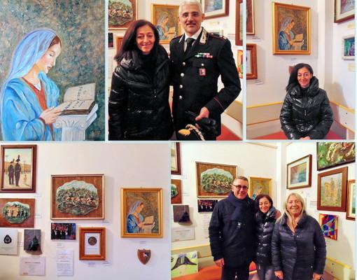 """La comunità varazzina ha partecipato numerosa alla mostra dedicata alla """"Virgo Fidelis"""""""