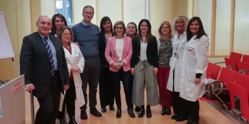 Savona, aziende sanitarie lombarde in visita al reparto di conduzione infermieristica del San Paolo (FOTO)