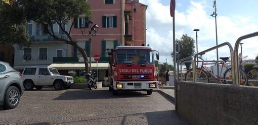 Fuga di gas a Celle Ligure: mobilitati i vigili del fuoco (FOTO)