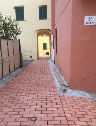 """Riqualificata via Madino, Frascherelli: """"Ora è degna della bellezza di Varigotti"""""""