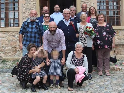 Rita e Piero Cavalleri, 60 anni insieme