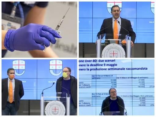 """Vaccino, Toti fa chiarezza sulle date: """"L'invio delle dosi dipende da Roma, entro fine maggio completeremo il piano per gli over 80"""""""