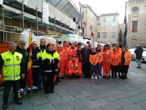 Oggi la benedizione dei mezzi di soccorso ad Albenga (FOTO e VIDEO)