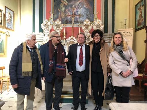 """Sgarbi visita le bellezze culturali e artistiche di Savona: """"Patrimonio ricco ma che necessita di evidenza con determinazione"""" (FOTO e VIDEO)"""