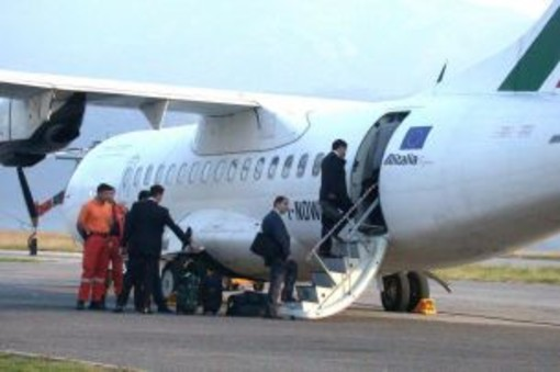 Villanova: schiarite per i collegamenti Airone per Roma