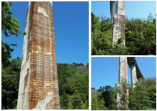 Il crollo del ponte Morandi riaccende la paura per i viadotti sulla A6