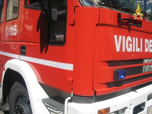 Fuga di gas e caduta di intonaco: doppio intervento dei vigili del fuoco a Varazze