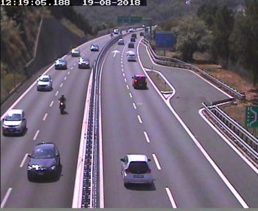 Disagi sulla A10: rallentamenti di 10 km tra Borghetto e Feglino in direzione Savona