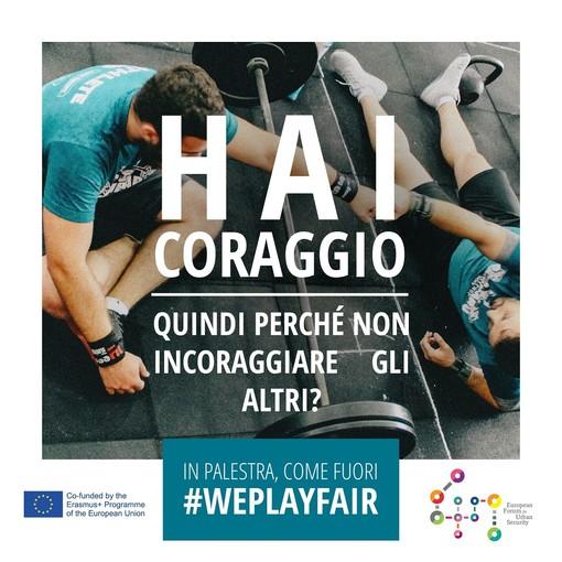 Loano: sì allo sport, no a razzismo e discriminazione. Questo è #WePlayFair